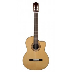 Salvador Cortez CS-62CE Kl/Spank guitar m. pickup