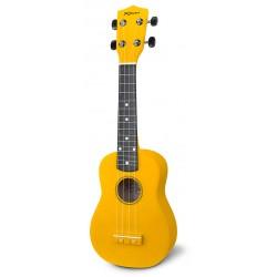 Reno RU150-YEL Ukulele Solid Yellow m. taske