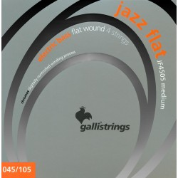 Gallistrings JF4505 Jazz Flat Wound basstrenge