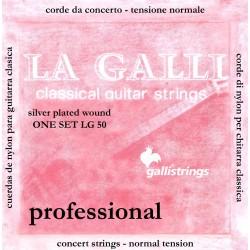 Gallistrings LG50 Normal Tension Nylon Strenge