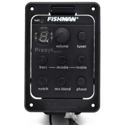 Fishman PSY-301 Dual Pickupsystem m. tuner