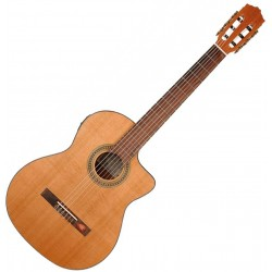 Salvador Cortez CC-10-CE Klassisk guitar Front