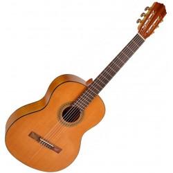 Salvador Cortez CC06 Student Series Klassisk guitar Angled