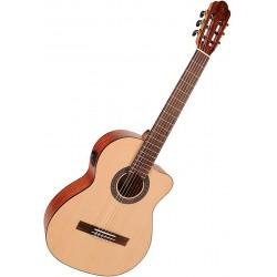 Salvador Cortez CS244CE Klassisk/Spansk guitar Front