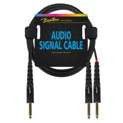 Boston Audio Signal Kabel stereo jack/2 x mono jack 9 meter