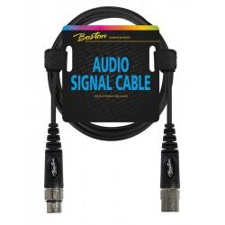 Boston AC-298-075 Mikrofonkabel XLR/XLR 75 cm