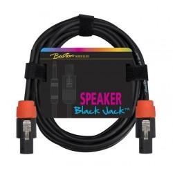 Boston Black Jack Højttalerkabel Speakon - Speakon 5 m.