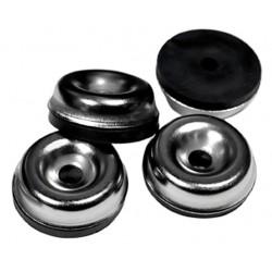 Sleipner metal/gummiben til amps og kabinetter