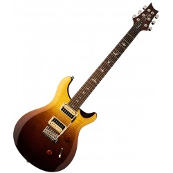 PRS SE Custom 24, 2020 Fade Limited Edition, Amber Fade El-guitar Front