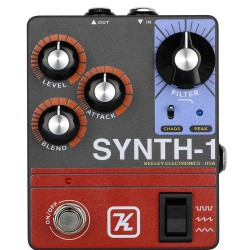 Keeley Synth-1 Synth-fuzz og reverse attack/swell