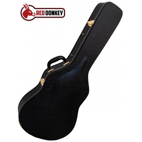 Red Donkey RD1C kuffert til Klassisk/spansk guitar Angled