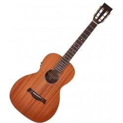 Richwood P-50 E Parlour guitar m. Fishman Isys + pickup Front