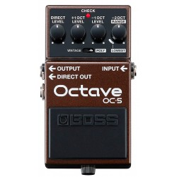 BOSS OC-5 Octave pedal Front