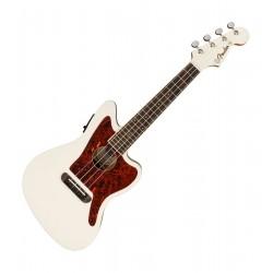 Fender Fullerton Jazzmaster ukulele - Olympic White