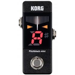 Korg Pitchblack MINI Pedal Tuner Front