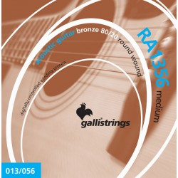 Gallistrings RA1356 Bronze 80/20 Wound 13-56