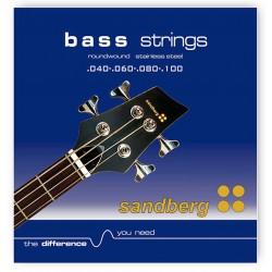 Sandberg el-basstrenge 4 Str. 40-100