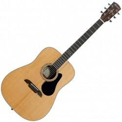 Alvarez AD60 Natural Western guitar Front