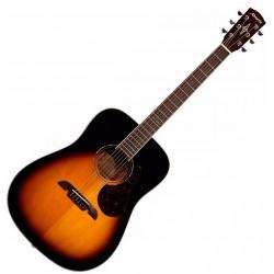Alvarez AD70SB Sunburst Western guitar Front