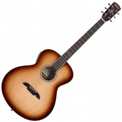 Alvarez ABT60ESHB Shadowburst Bariton Western guitar m. cutaway Front