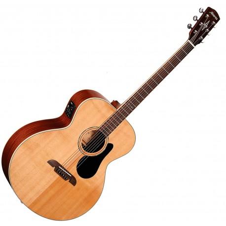 Alvarez ABT60E Bariton Western guitar m. Pickup Front