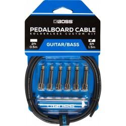 Boss BCK-6 pedalboard kabel sæt 6' kabel 6 connectors