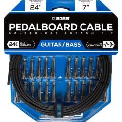 Boss BCK-24 pedalboard kabel sæt 24' kabel 24 connectors