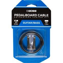 Boss BCK-2 pedalboard kabel sæt 2' kabel 2 connectors
