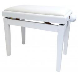Pulse Pianobænk DeLuxe mat hvid