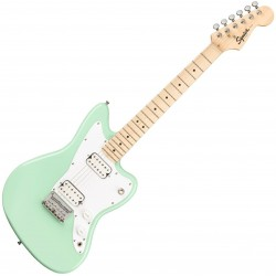 Fender SQ Mini Jazzmaster HH MN Surf Green