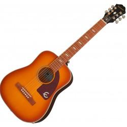 Lil' Tex Faded Cherry Sunburst Acoustic Guitar