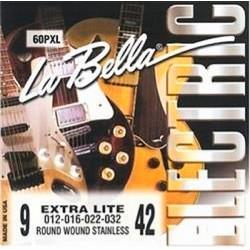 La bella 60PXL El-guitar strenge 9-42