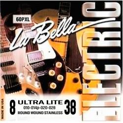 La bella 60PUL El-guitar strenge 8-38