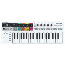 Arturia KeyStep Pro USB Sequencer Controller Front