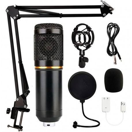 BM 800 Professionel Condenser Mikrofon Sæt