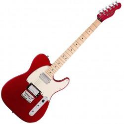 Fender Squier Contemporary Telecaster HH MN Dark Metallic Red Front