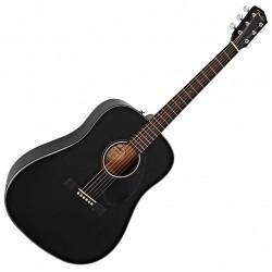 Fender CD-60S Black western guitar