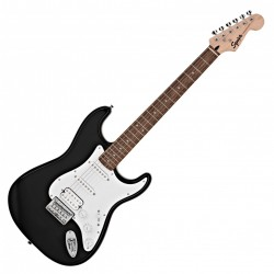 Fender Squier Bullet Stratocaster HSS LRL BLK el-guitar Front