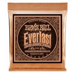 Ernie Ball EB-2546 Everlast Phos. Bronze Medium Light 12-54 Front