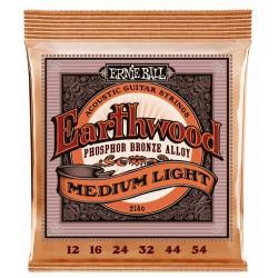 Ernie Ball EB-2146 Earthwood Phos. Bronze Medium Light 12-54 Westernstrenge