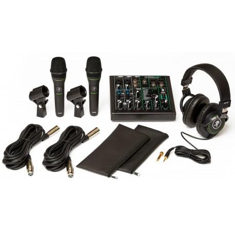 Mackie Performer Bundle Mikrofonsæt Total
