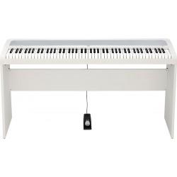 KORG B2-WH el-klaver med STB1-WH stativ Hvid