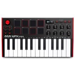 Akai MPK Mini MK3 Midi USB Keyboard Controller front