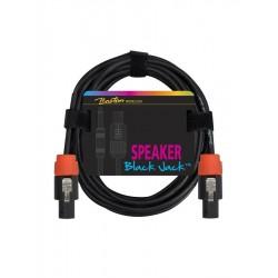 Boston højtalerkabel, sort. Speakon SC-230-10