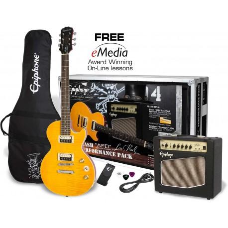 Epiphone Slash AFD LP guitar pakke