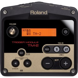 Roland TM-2 trigger modul til akustiske trommer front