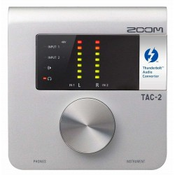 Zoom TAC-2 Thunderbolt Audio Interface front