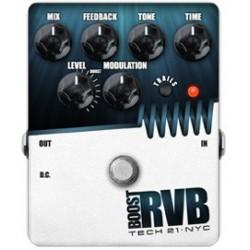 TECH 21. NYC Boost RVB Reverb