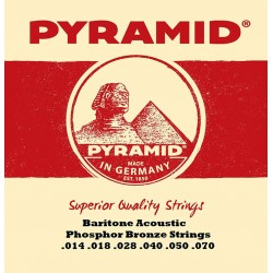 Pyramid Barítone Acoustic 14-70 Baritone western strenge