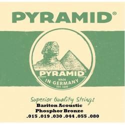 Pyramid Barítone Acoustic 15-80 western strenge